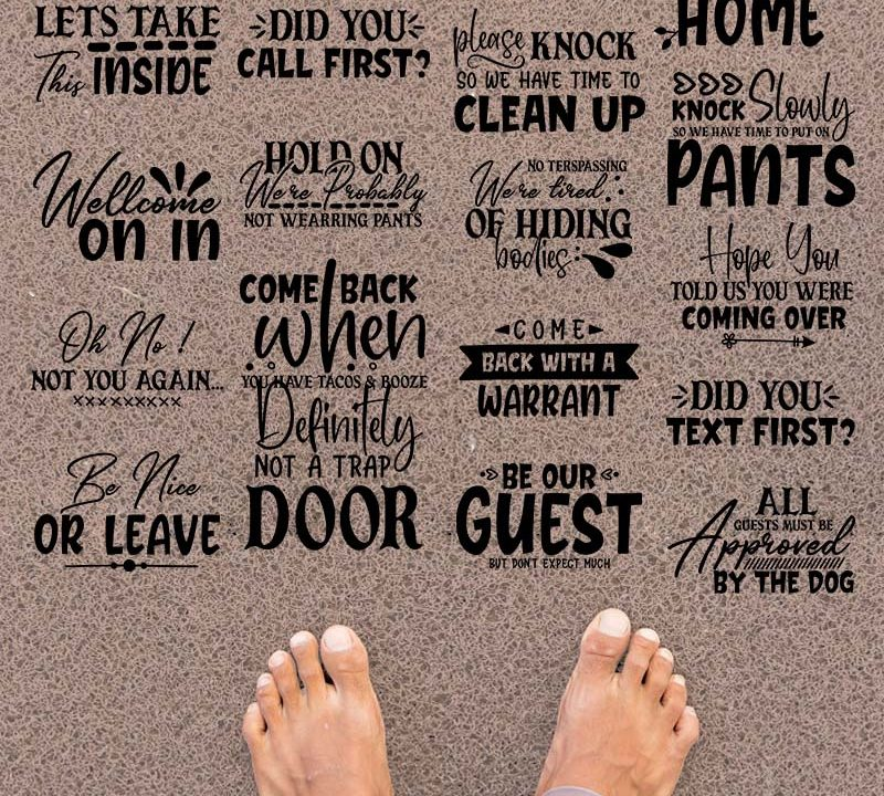 Doormat SVG Design Bundle