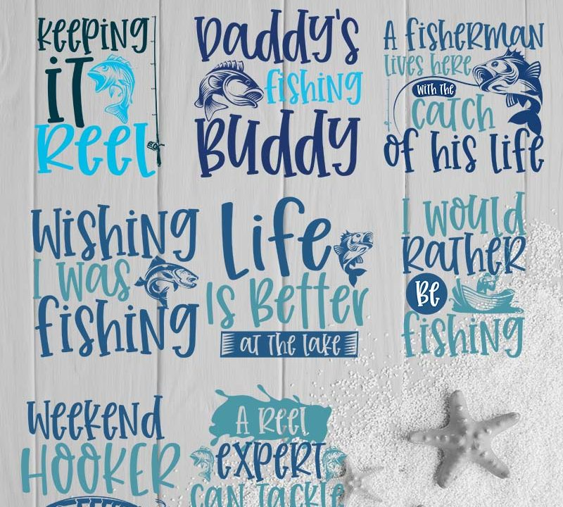 Fishing Design Bundle